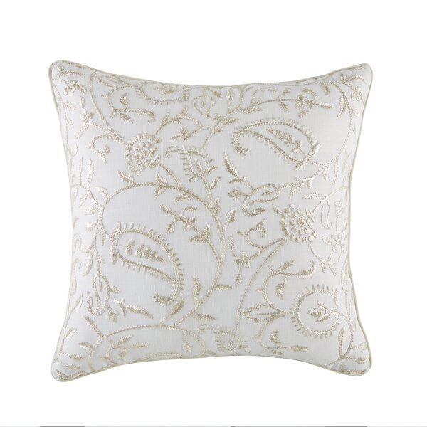 Cela 100% Cotton Throw Pillow by Croscill Home Fashions